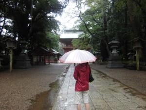 鹿島神宮参拝へ