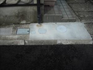 コンクリートの復旧