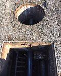 1214浄化槽内配管の様子2-1