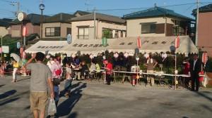 高根木戸西町会祭り