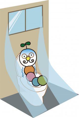寒いトイレ